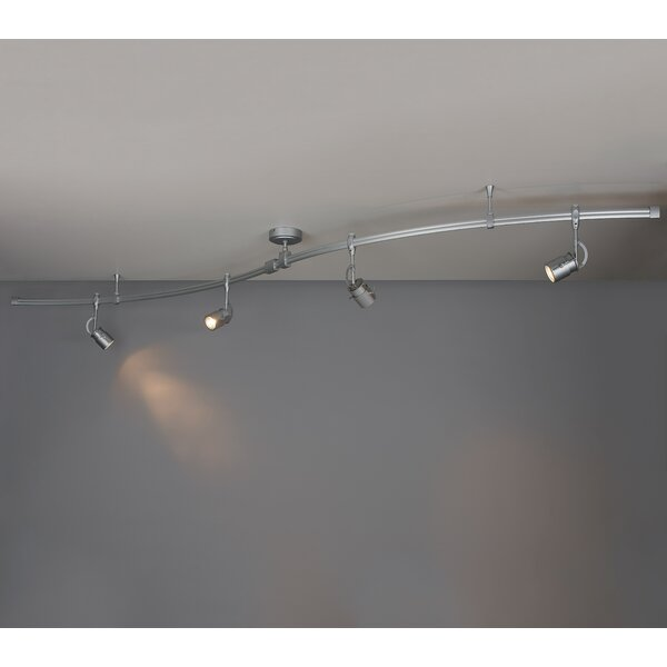 Zonyx 4-Light Track Kit Kit by Bruck Lighting