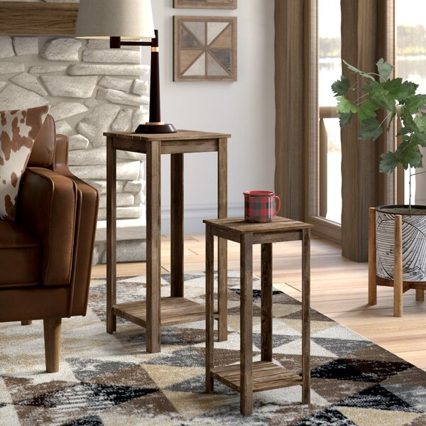Talia 2 Piece Nesting Plant/End Table By Loon Peak