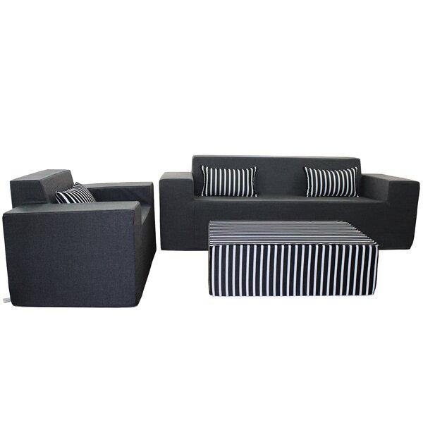 Edmiston Deep Sunbrella Seating Group by Brayden Studio