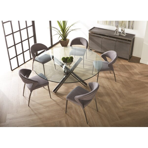 Desirat Upholstered Dining Chair (Set of 2) by Orren Ellis