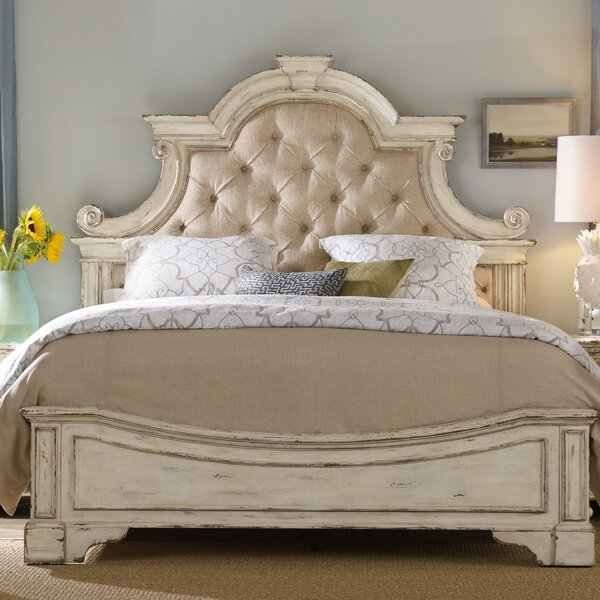 New Sanctuary Upholstered Panel Bed By Hooker Furniture 2019 Online