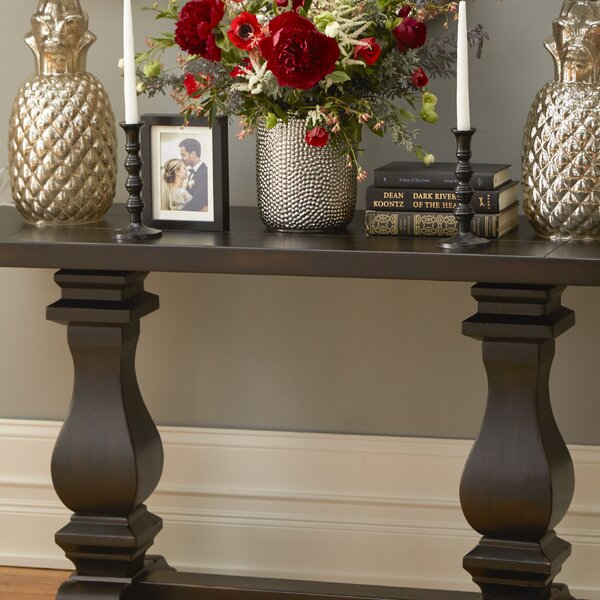 Sardis Rectangular Console Table by Three Posts