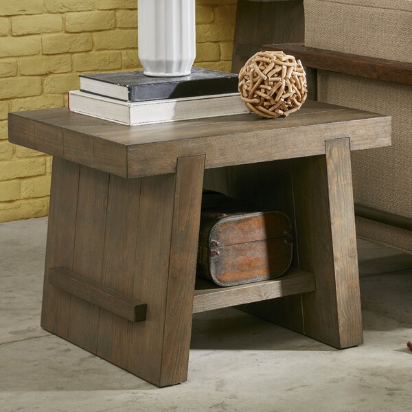 Magaw End Table by Union Rustic Union Rustic