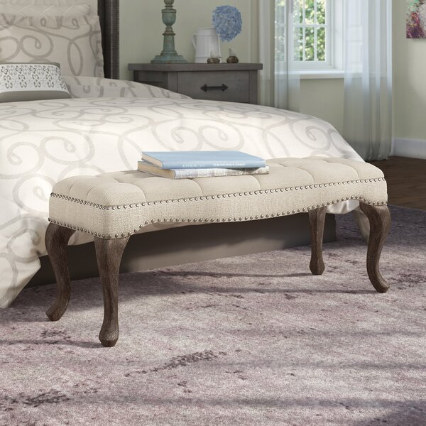 Elya Upholstered Bench by Lark Manor Lark Manor
