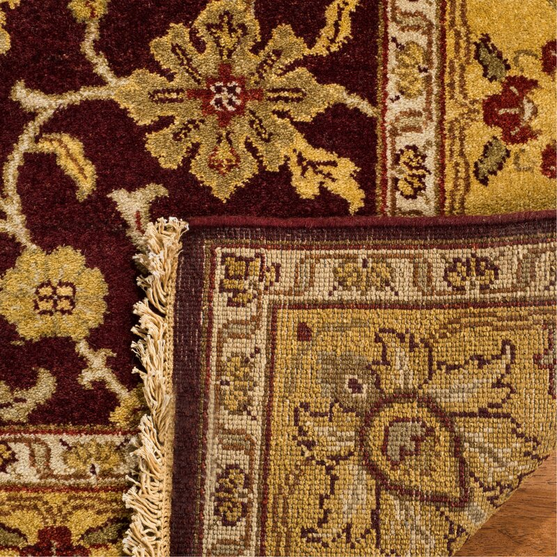 Old World Ow224a Red Light Gold Oriental Rug