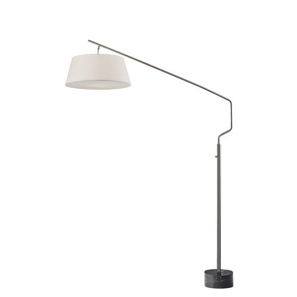 Affinia 81 Arched Floor Lamp by Orren Ellis
