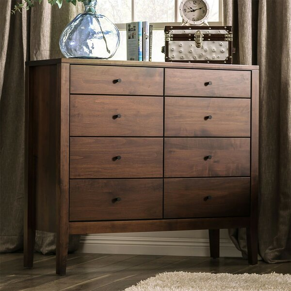 Bussard 8 Drawer Chest by Foundry Select