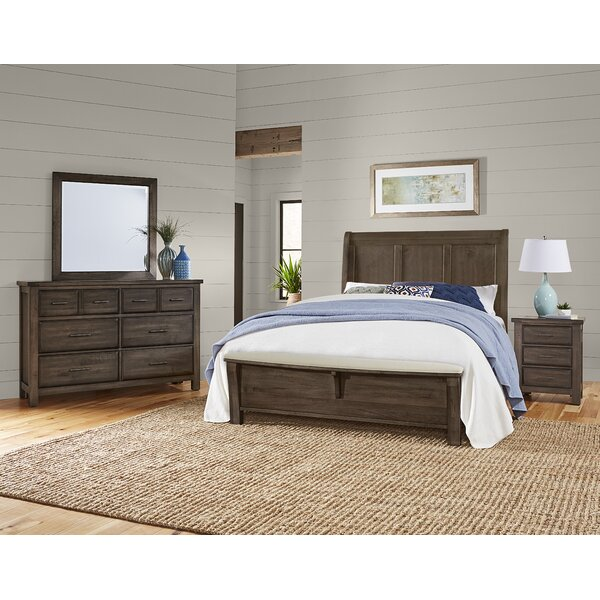 Walkerville Sleigh Headboard by Loon Peak