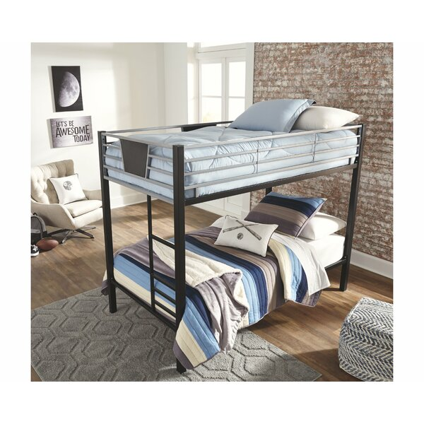 Komar Twin Over Twin Bunk Bed by Zoomie Kids