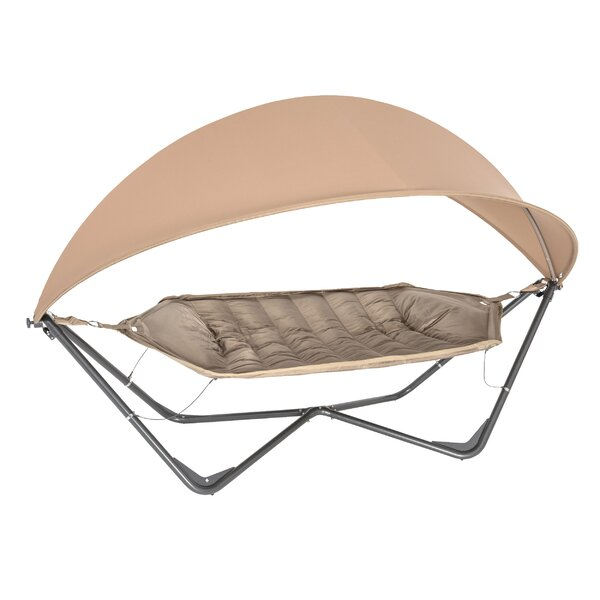 Gondola Polyester Hammock with Stand by TrueShade™ Plus