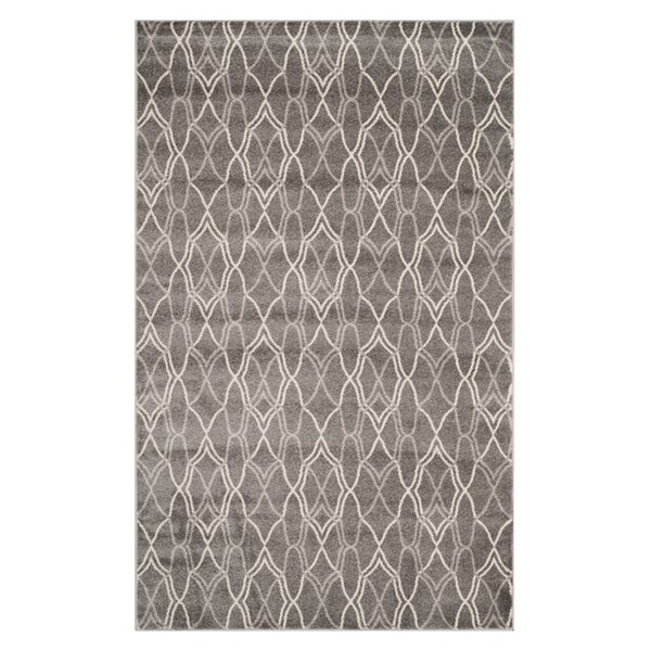 Falstaff Gray Indoor/Outdoor Area Rug by Ebern Designs