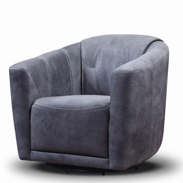 Murphy Swivel Barrel Chair by Diamond Sofa