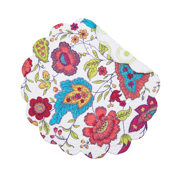 Teagan 17 Placemat (Set of 6) by C&F Home