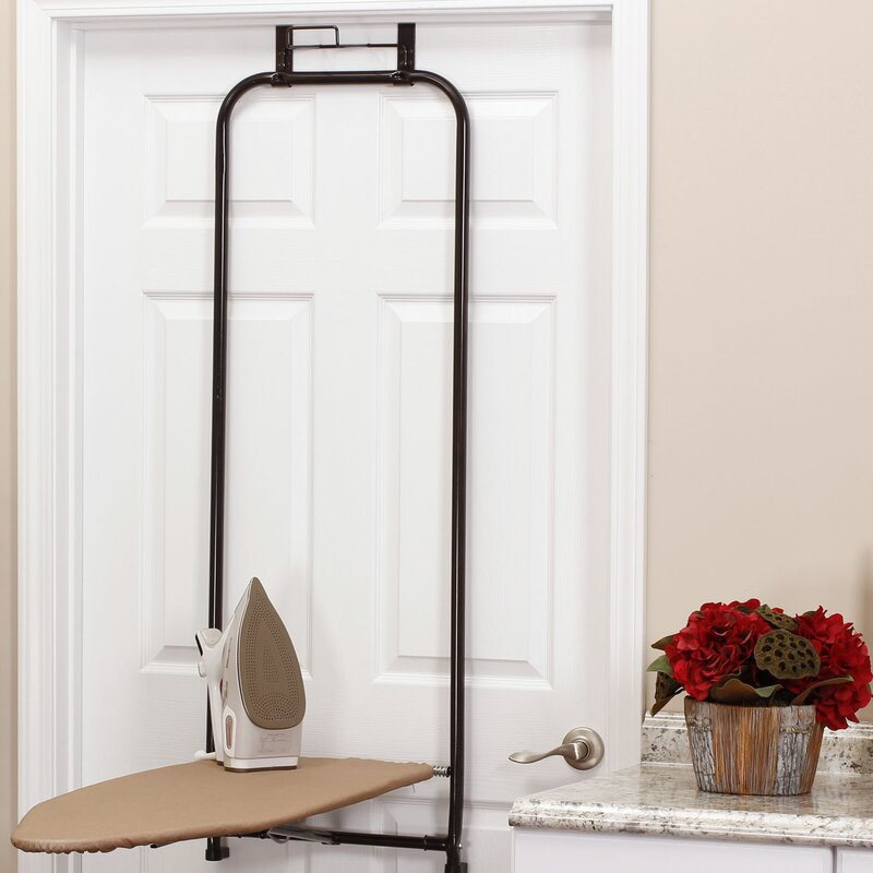 Steel Top Over The Door Ironing Board