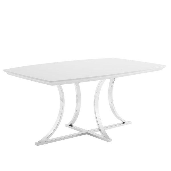 Iseult Dining Table by Orren Ellis Orren Ellis