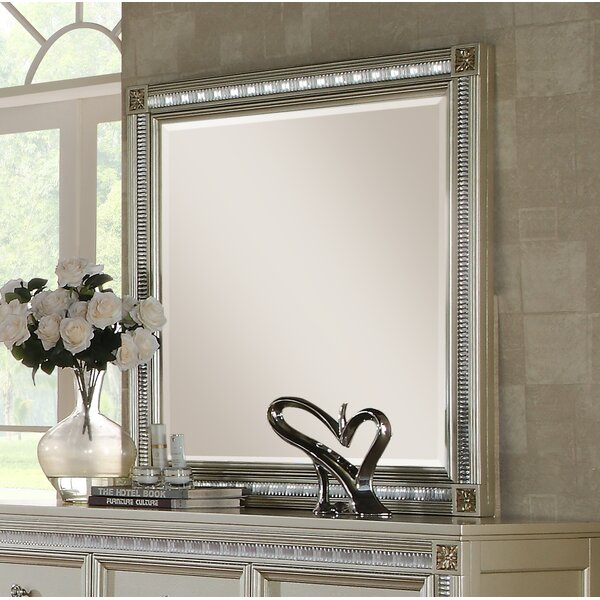 Chumbley Square Dresser Mirror by House of Hampton