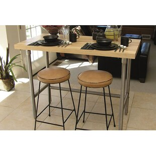 Stainless steel prep stations tables youll love wayfair prep table with wood top watchthetrailerfo