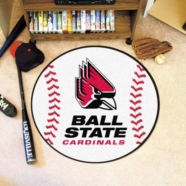 NCAA Ball State University Baseball Mat by FANMATS