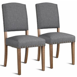 Gorgas Upholstered Dining Chair (Set of 2) by Ophelia & Co.