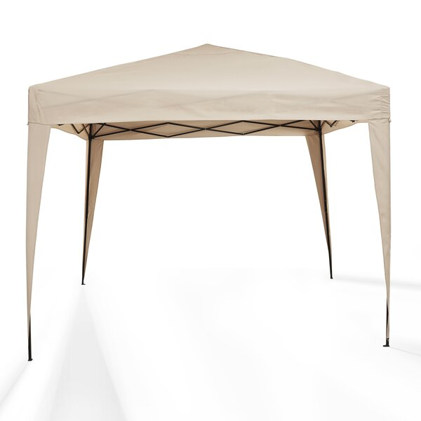 Hampton 10 Ft. W x 10 Ft. D Steel Pop-Up Canopy by Crosley
