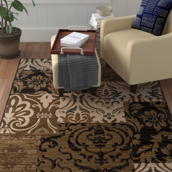 Sherill Ivory Synthetic Area Rug by Winston Porter