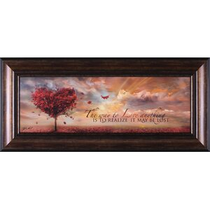 'The Way to Love' Framed Graphic Art by Alcott Hill