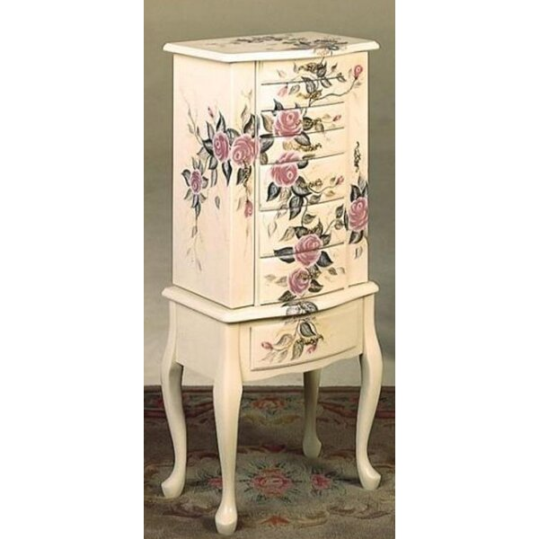 Carel Free Standing Jewelry Armoire by Rosalind Wheeler Rosalind Wheeler