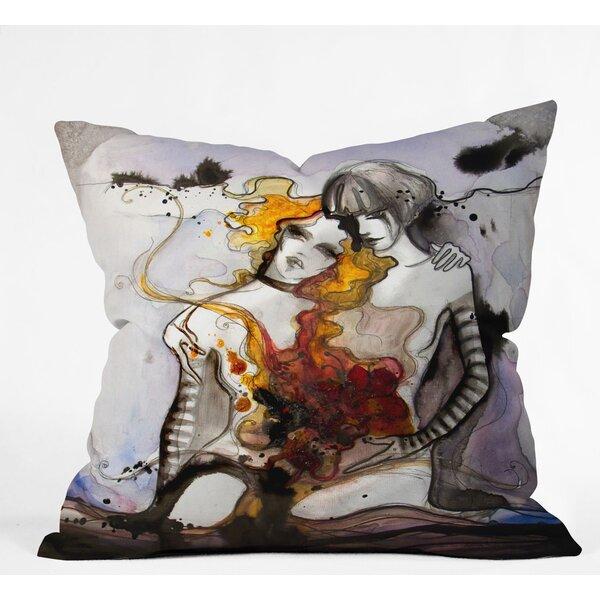 Deniz Ercelebi Twins Outdoor Throw Pillow by Deny Designs
