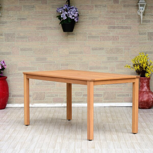 Cyr Eucalyptus Dining Table by Charlton Home