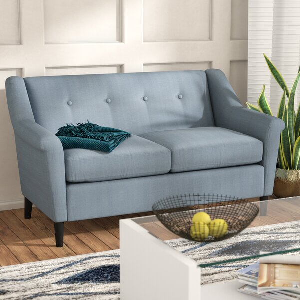 Deschutes Modern Loveseat by Andover Mills