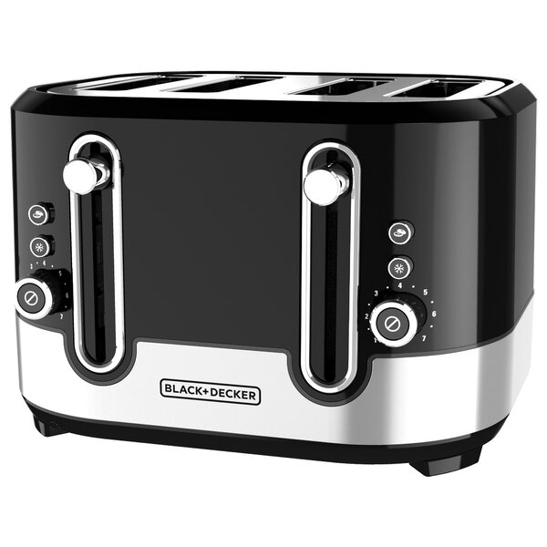 4-Slice Extra-Wide Slots Toaster by Black + Decker