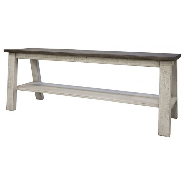 Muriel Wood Bench by One Allium Way