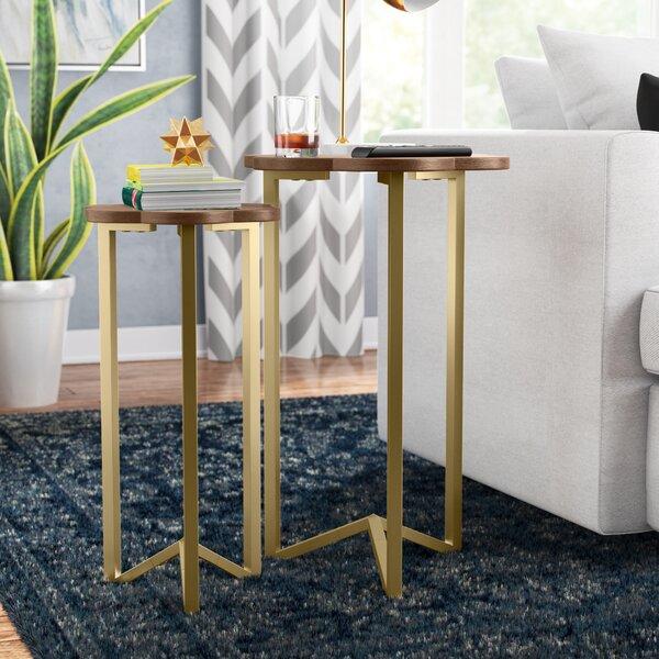 Sakai 2 Piece Nesting Tables By Wrought Studio