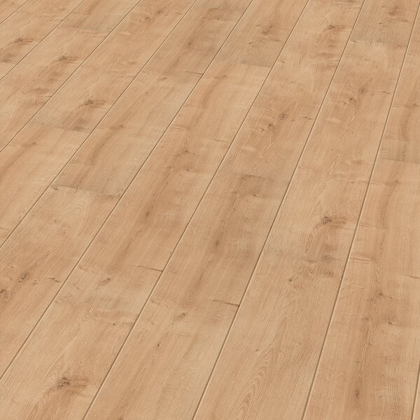 7 x 47 x 11mm Oak Laminate Flooring in Tan by ELESGO Floor USA