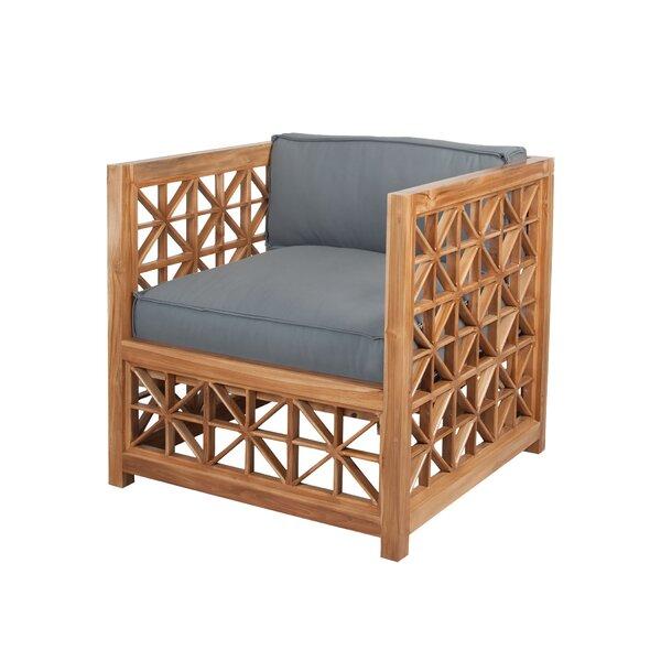 Vincent Lorenzo Teak Patio Chair By Bayou Breeze