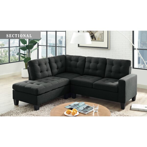 Stead Reversible Sectional by Ebern Designs