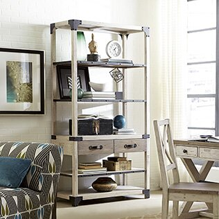 Samar Etagere Bookcase by 17 Stories