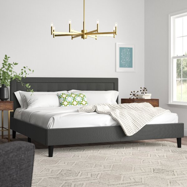 Vannatta Upholstered Platform Bed by Brayden Studio