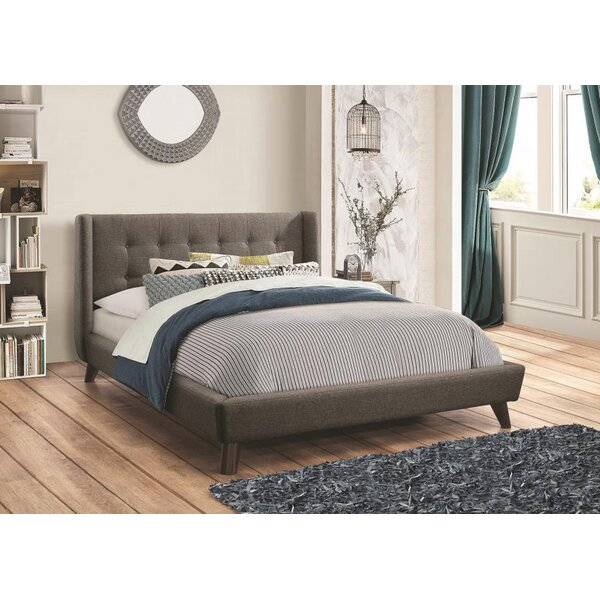 Ballesteros Upholstered Platform Bed (Set of 2) by George Oliver