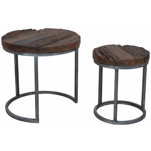Diggins 2 Piece Nesting Tables by 17 Stories