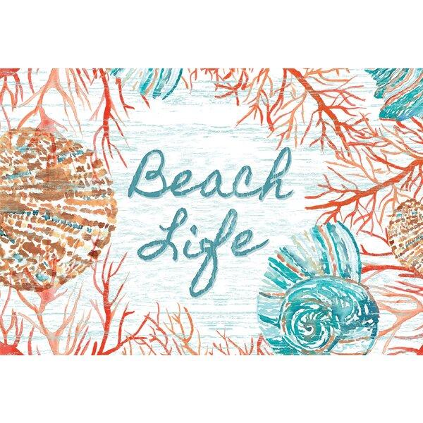 Bannock Beach Life Doormat by Highland Dunes