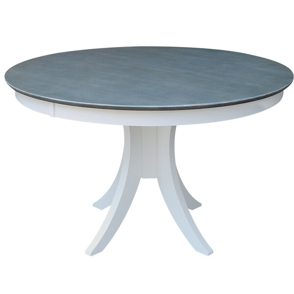 Round Pedestal Solid Wood Dining Table by Sedgewick Industries
