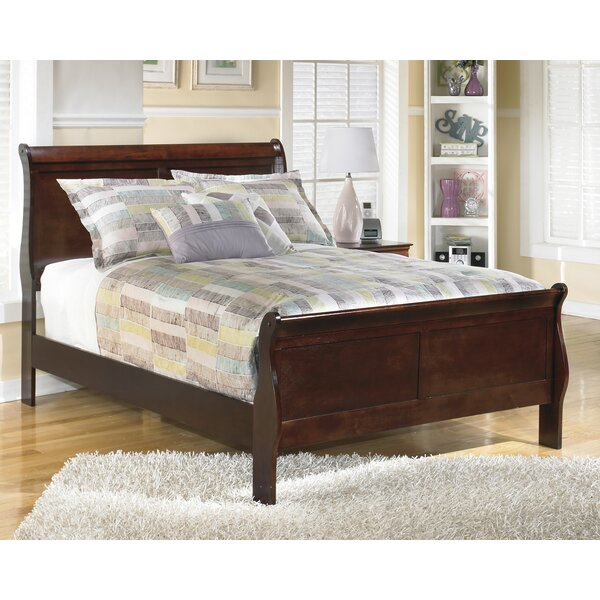 Dwyer Sleigh Bed by Three Posts