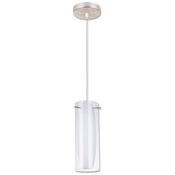Glenview 1-Light Cylinder Pendant by Orren Ellis