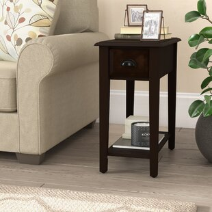 Dale End Table with Storage by Alcott Hill