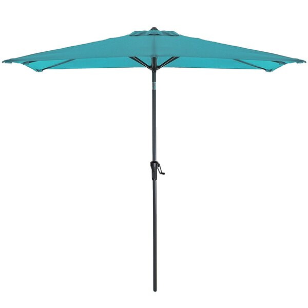 Nessa 5' x 9' Rectangular Market Umbrella (Set of 2) by Rosecliff Heights Rosecliff Heights