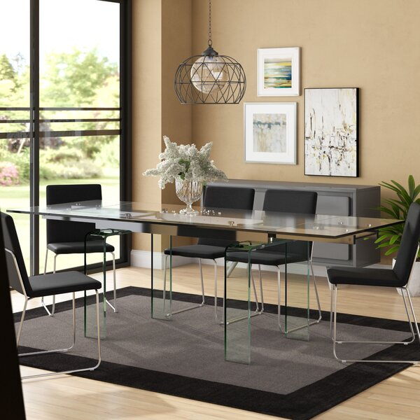 Hamner Extendable Dining Table by Ivy Bronx