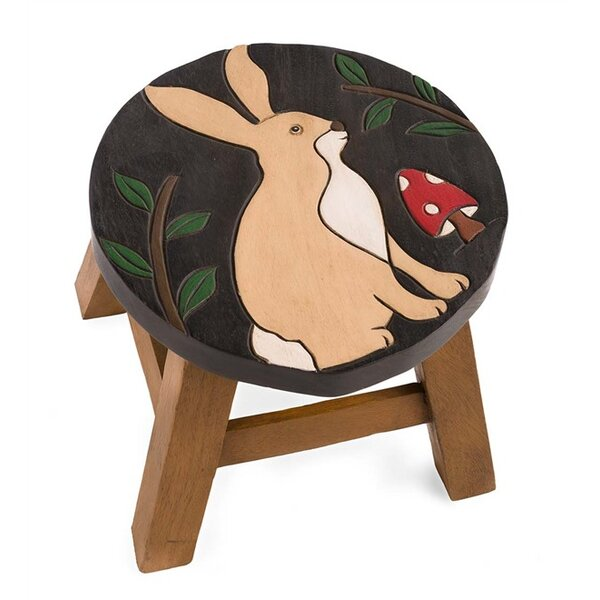 Rabbit Accent Stool by Plow & Hearth