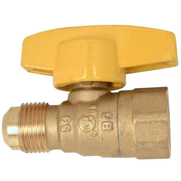 Water Heater Gas Ball Valve by BrassCraft