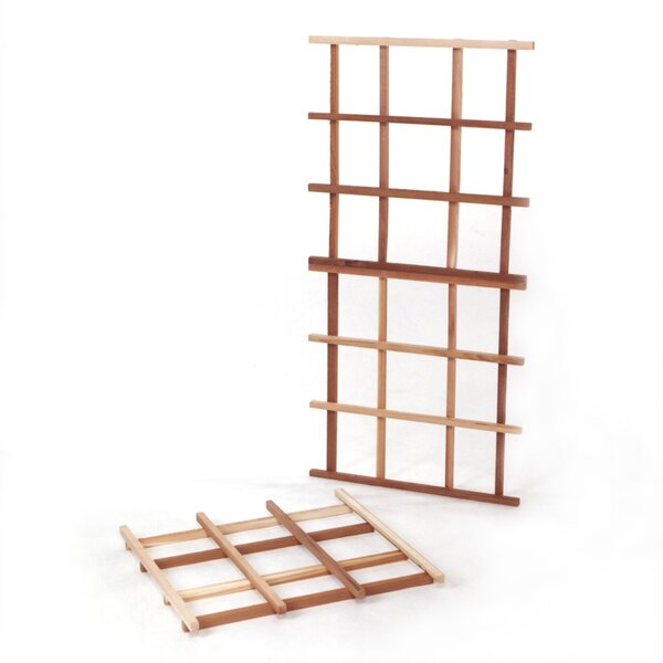 Garden Wood Lattice Panel Trellis by All Things Cedar